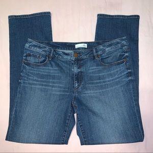 The LOFT Curvy Straight Jeans